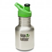 Детская бутылка Klean Kanteen Kid Classic Sport Brushed Stainless 355 мл